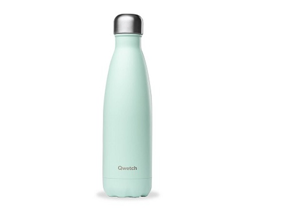 Bouteille inox 500 ml isotherme vert pastel
