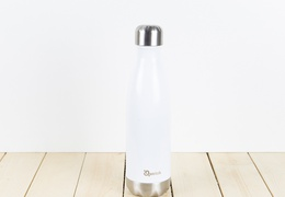 Bouteille inox 500ml couleur blanc
