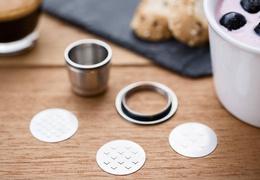Capsule à café en inox - kit 1 capsule