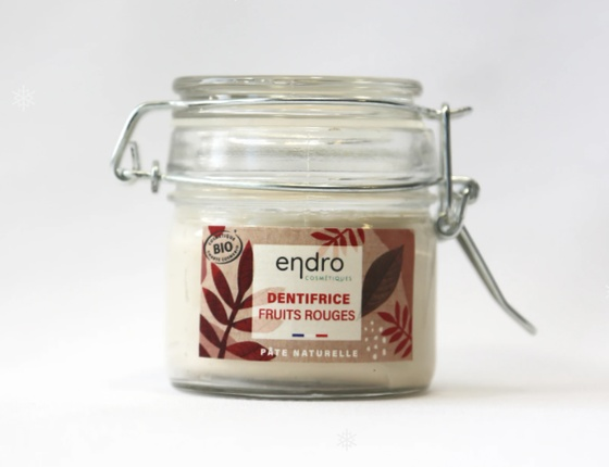 Dentifrice Endro fruits rouges