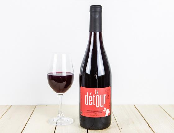 """Vin Philippe Chevarin rouge """"Le Détour"""" naturel & local"""
