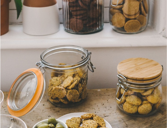 Biscuits apéro moutarde à l'ancienne bio