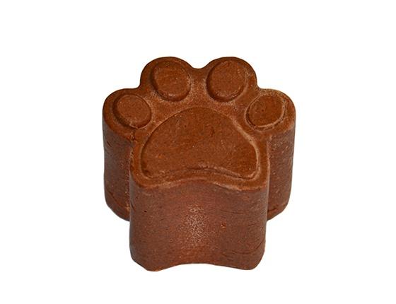 Shampooing solide pour chien poils fauves