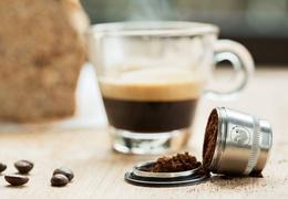 Capsule à café en inox