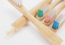 Manche de brosse à dents en bambou