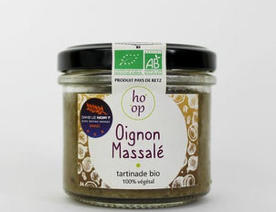 """Tartinade bio & locale 100% végétale """"Oignon au Massalé"""""""