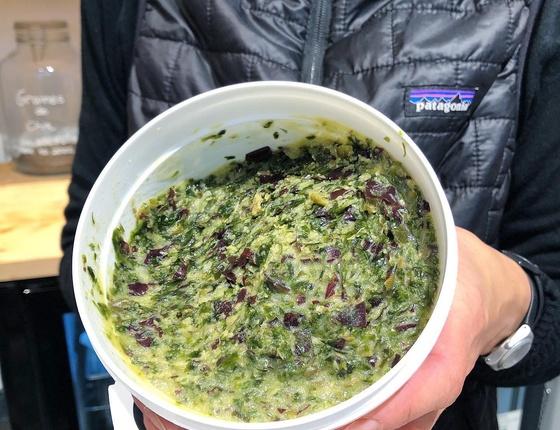 Tartare d'algues bio