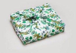 Furoshiki emballage cadeau réutilisable motif Wild