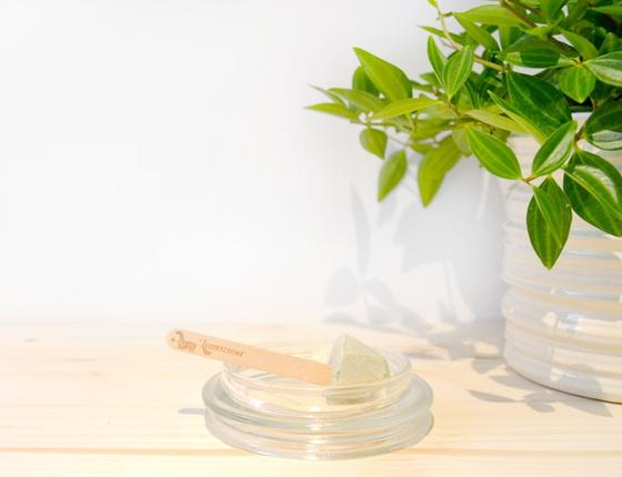 Dentifrice solide sauge citron