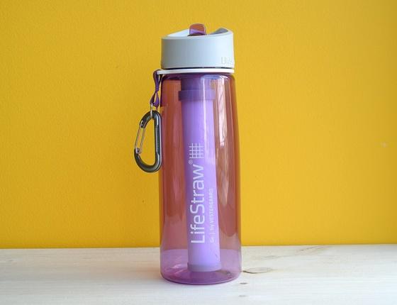 Gourde filtrante LifeStraw violette