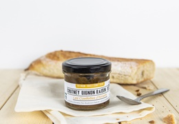 Chutney d'oignons bio & local