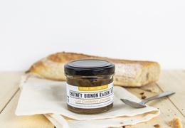 Chutney d'oignons et raisins secs bio & local