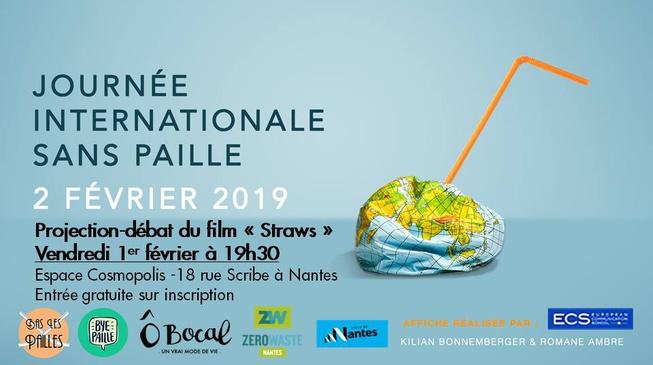"""Projection-débat du film """"Straws"""" vendredi 1er février à Nantes"""