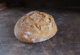 Pain aux graines de sésame 500g bio & local