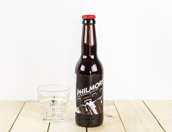 Bière ambrée 33cl bio & locale
