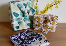 Furoshiki à motifs petit format