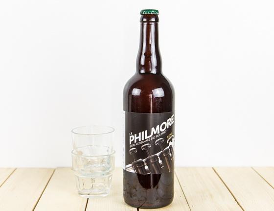 "Bière Brasserie Philmore ""blonde"" 75cl bio & locale"
