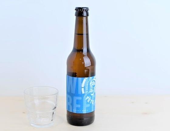 """Bière Brasserie Tête Haute blanche """"Wheat"""" 33cl bio & locale"""