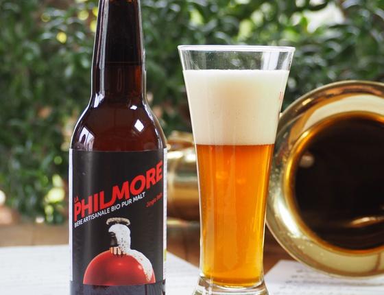 """Bière Brasserie Philmore ambrée """"Jingle Bells"""" 75 cl bio & locale"""