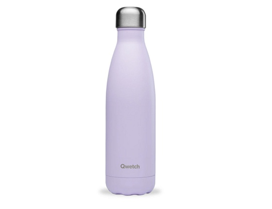 Bouteille inox 500 ml isotherme lilas