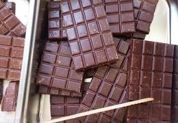 Tablette de chocolat au lait bio