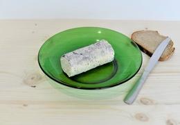 Fromage bûchette cendrée de chèvre bio & locale