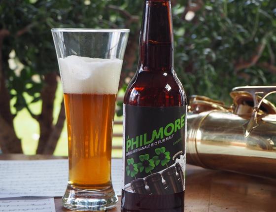 "Bière Brasserie Philmore blonde ""Ladybird"" 33cl bio & locale"