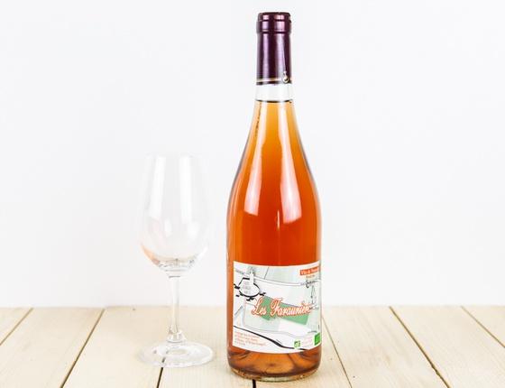 Vin rosé Les Faraunières bio naturel