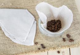 Filtre à café lavable