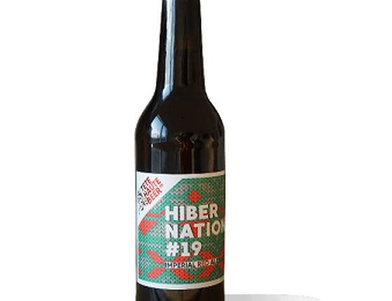 "Bière de Noël ""Hibernation 19"" 33cl bio & locale"
