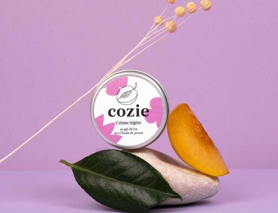 Crème légère Cozie pour le visage