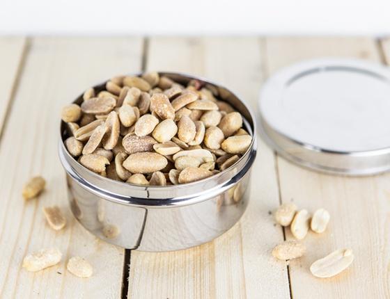 Cacahuètes grillées et salées bio