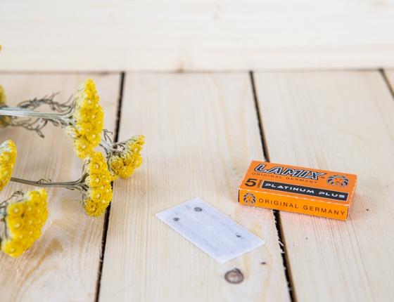 Paquet de 5 lames pour rasoir de sécurité