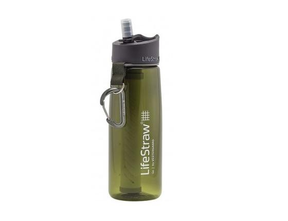 Gourde filtrante LifeStraw verte