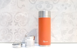 Théière isotherme en inox 400 ml