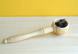 Doseur à café en bois
