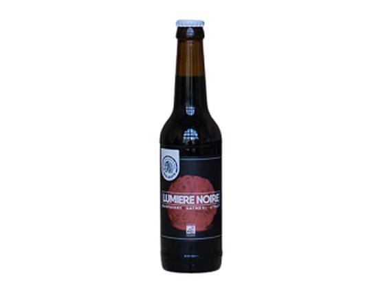 """Bière Brasserie Tête Haute Stout """"Lumière noire"""" 33cl bio & locale"""