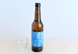 """Bière Brasserie Tête Haute blanche """"Wheat"""" 75cl bio & locale"""