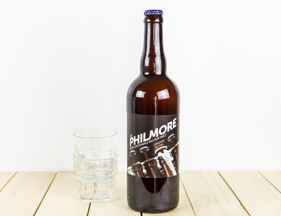 "Bière Brasserie Philmore ""London Bitter"" 75cl bio & locale"