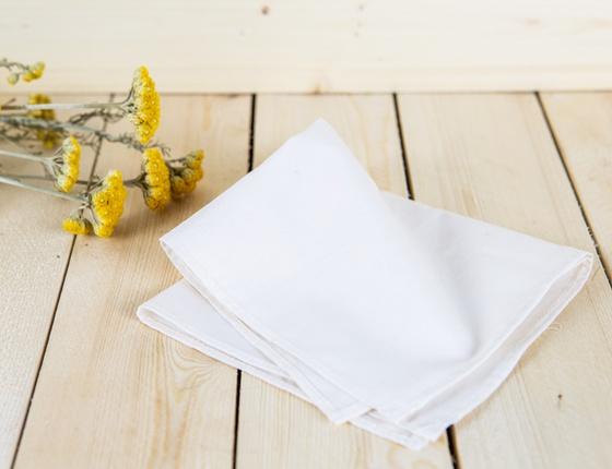 Mouchoir lavable en coton