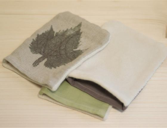Mini gant en coton bio