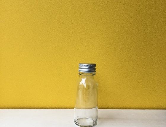 Flacon en verre transparent 60 ml