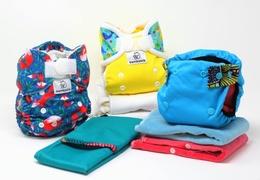 Coffret de couches lavables « Culottes Courtes » pour les bébés de 5 à 15 kg