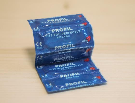 Préservatifs en latex naturel profil