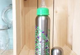 Biberon isotherme en inox 270ml