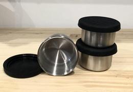 Mini boîte inox & silicone 60 ml