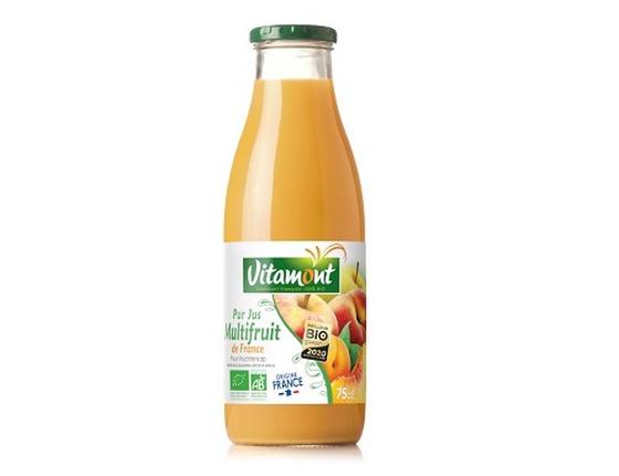 Jus multifruits de France bio