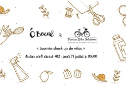 Atelier zérÔ déchet #11 : Journée check up de vélos !