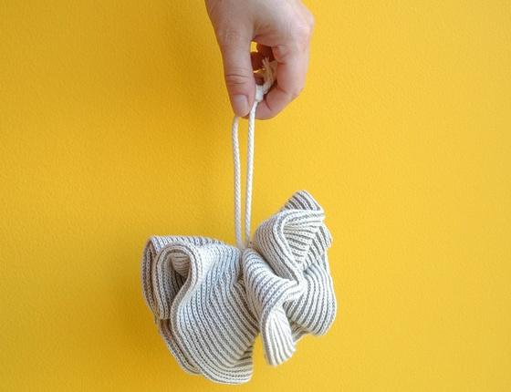 Fleur de douche lin & coton