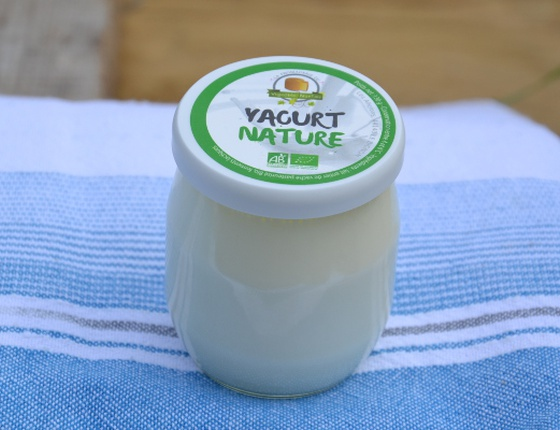 Yaourt nature au lait de vache bio & local